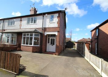 Thumbnail 3 bed semi-detached house to rent in Carlton Crest, Pontefract