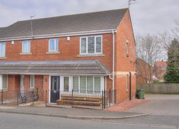 Thumbnail 3 bed terraced house for sale in Fern Court, Guidepost, Choppington