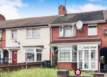 Thumbnail 3 bedroom terraced house to rent in St. Stephens Road, West Bromwich