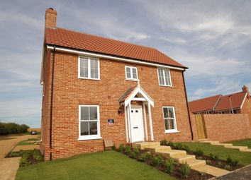 Thumbnail 4 bed link-detached house for sale in Church Hill, Saxmundham