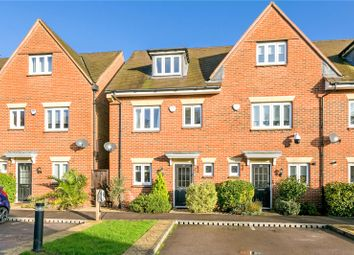 Thumbnail 4 bed end terrace house for sale in Montague Close, Farnham Royal, Slough