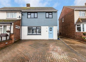 Thumbnail 3 bed semi-detached house for sale in New Road, Cliffe, Rochester