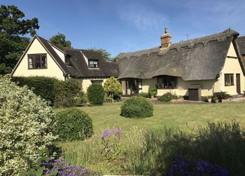 Thumbnail 4 bed detached house for sale in Church End, Gamlingay, Sandy