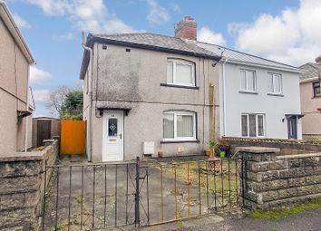 Thumbnail 3 bed semi-detached house for sale in Glanyrafon Road, Pencoed, Bridgend.
