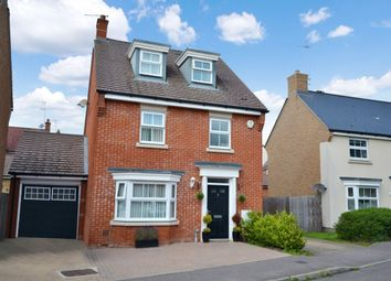 Thumbnail 4 bed detached house for sale in Hubberd Road, Little Canfield, Dunmow