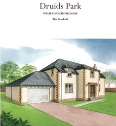 Thumbnail 4 bed detached house for sale in Bruce Drive, Murthly