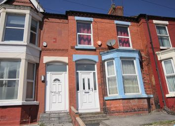 Thumbnail 4 bed terraced house to rent in Bagot Street, Wavertree, Liverpool, Merseyside