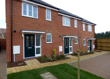 Thumbnail 2 bedroom end terrace house to rent in Brooke Way, Stowmarket