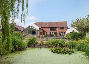 Thumbnail 4 bedroom barn conversion for sale in Poringland Road, Stoke Holy Cross, Norwich