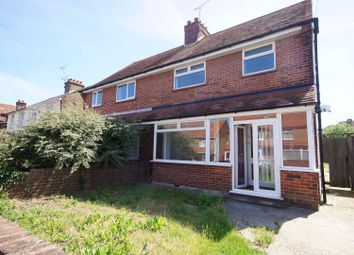 Thumbnail 3 bed semi-detached house to rent in Invicta Road, Margate