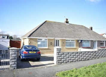 Thumbnail 2 bedroom semi-detached bungalow for sale in Bryngwyn Avenue, Garden Village, Gorseinon, Swansea