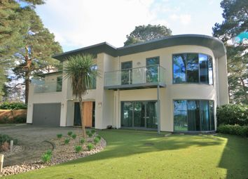 Thumbnail 4 bed detached house for sale in Crichel Mount Road, Canford Cliffs, Poole