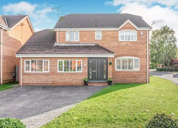 Thumbnail 4 bed detached house for sale in Parkland Drive, Rossington, Doncaster, South Yorkshire