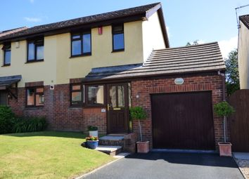 Thumbnail 2 bed semi-detached house to rent in Clover Rise, Woolwell, Plymouth