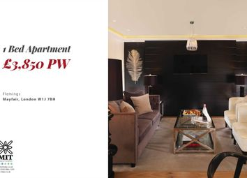 Thumbnail 1 bed flat to rent in Half Moon Street, London