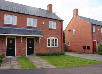 Thumbnail 2 bed semi-detached house for sale in Sherwood Court, Long Whatton