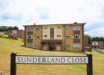 Thumbnail 2 bed flat for sale in Sunderland Close, Rochester