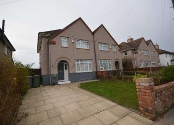 Thumbnail 3 bed semi-detached house for sale in Alexandra Drive, Bebington, Wirral