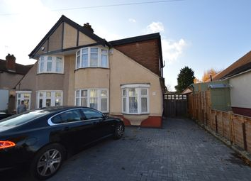 Thumbnail 4 bedroom semi-detached house to rent in Dunspring Lane, Clayhall, Ilford, Essex
