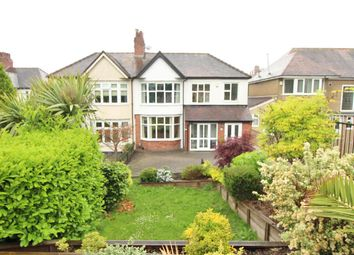 Thumbnail 4 bed semi-detached house for sale in Fields Park Road, Newport