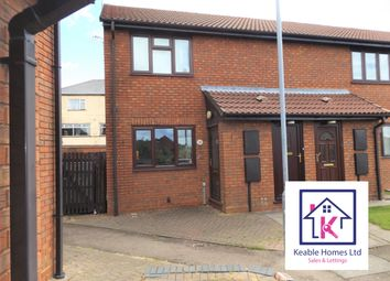 Thumbnail 1 bed flat to rent in Hamilton Close, Hednesford, Cannock