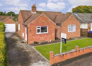 Thumbnail 2 bed detached bungalow for sale in Scotton Drive, Knaresborough, North Yorkshire