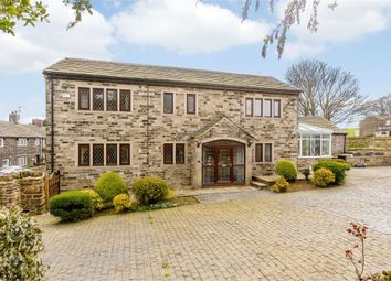 Thumbnail 5 bedroom detached house for sale in Hollin Hall Lane, Mirfield, West Yorkshire