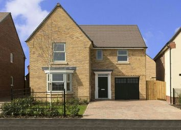 Thumbnail 4 bed detached house to rent in Fallowfields, Crick, Northampton