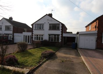 Thumbnail 3 bed semi-detached house to rent in Beyer Close, Tamworth