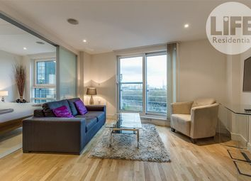 Thumbnail Studio for sale in Anchor House, St George Wharf, London
