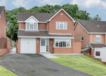 Thumbnail 4 bed detached house for sale in Damson Close, Callow Hill, Redditch