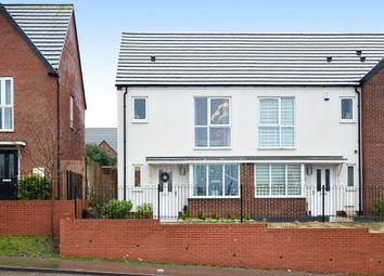 Thumbnail 2 bed semi-detached house for sale in Vickers Close, Knutton, Newcastle