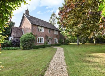 Thumbnail 4 bedroom detached house for sale in Chillandham Lane, Itchen Abbas, Winchester