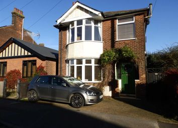 Thumbnail 3 bed detached house for sale in Darwin Road, Ipswich, Suffolk