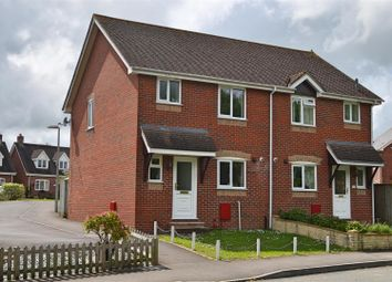 Thumbnail 3 bed semi-detached house for sale in Woodmill Close, Stalbridge, Sturminster Newton