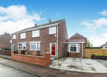 Thumbnail 4 bed semi-detached house for sale in Eden Dale, Ryton