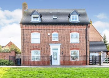 Thumbnail 5 bed detached house for sale in East Water Crescent, Hampton Vale, Peterborough