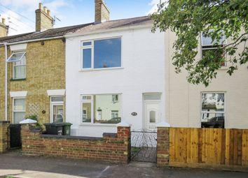 Thumbnail 2 bedroom terraced house for sale in Queens Walk, Woodston, Peterborough