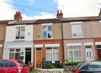 Thumbnail 2 bed terraced house to rent in Shakleton Road, Earlsdon, Coventry
