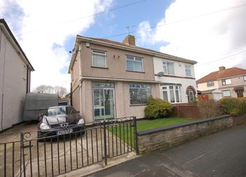 Thumbnail 3 bed semi-detached house for sale in Crown Road, Bristol