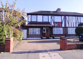 Thumbnail 4 bed semi-detached house for sale in Melbury Avenue Melbury Avenue, Southall