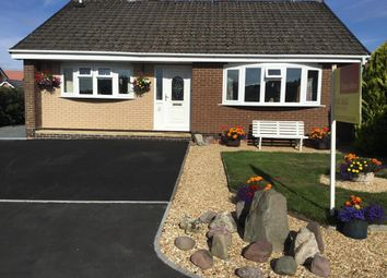 Thumbnail 3 bed detached bungalow for sale in Pentrosfa Road, Llandrindod Wells, Powys