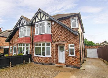 Thumbnail 3 bed semi-detached house for sale in Saville Road, Woodthorpe, Nottingham