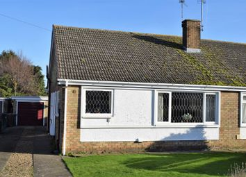 Thumbnail 2 bed semi-detached bungalow for sale in St. Joans Drive, Scawby, Brigg