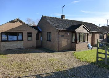 Thumbnail 4 bedroom detached bungalow for sale in Silvers Lane, Murrow, Wisbech