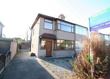 Thumbnail 3 bedroom semi-detached house for sale in Cleveleys Avenue, Lancaster