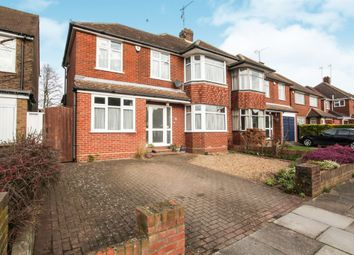 Thumbnail 4 bedroom semi-detached house for sale in Hemingford Drive, Luton