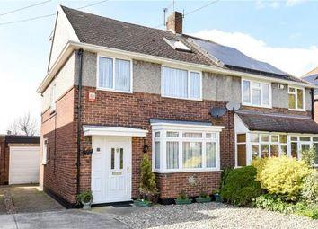 Thumbnail 4 bedroom semi-detached house for sale in Hogarth Avenue, Ashford, Surrey
