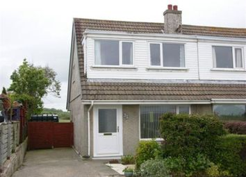 Thumbnail 3 bed semi-detached house to rent in Friary Park, Ballabeg