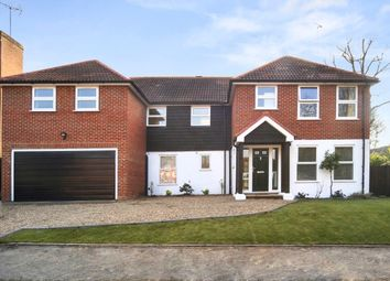 Thumbnail 5 bed detached house to rent in Manor Chase, Weybridge